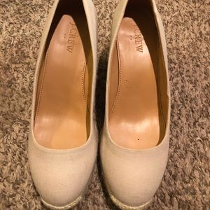 J. Crew Factory espadrille wedges